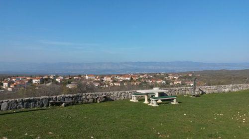 Ausblick nach Gabonj von Sveti Petar