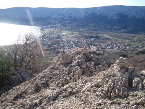 Blick auf Baška
