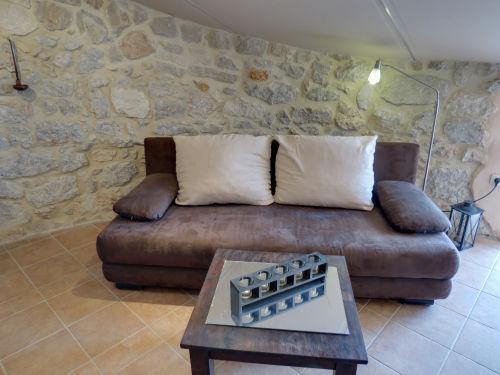 lounge liege wohnzimmer:Appartement Don Camillo in Sveti Vid bei Malinska auf der Insel Krk